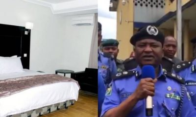 Police arrest suspect who tried to strangle his victim at Port Harcourt hotel (video)