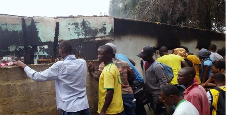 School fire leaves 27 children dead (Photos)