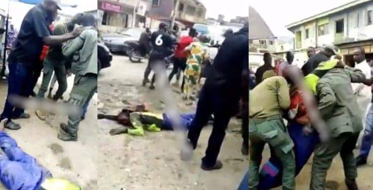 Security personnel beat Oride operator to death for overtaking them (Video)