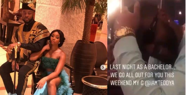 Teddy A celebrates his last night as a bachelor (Video)