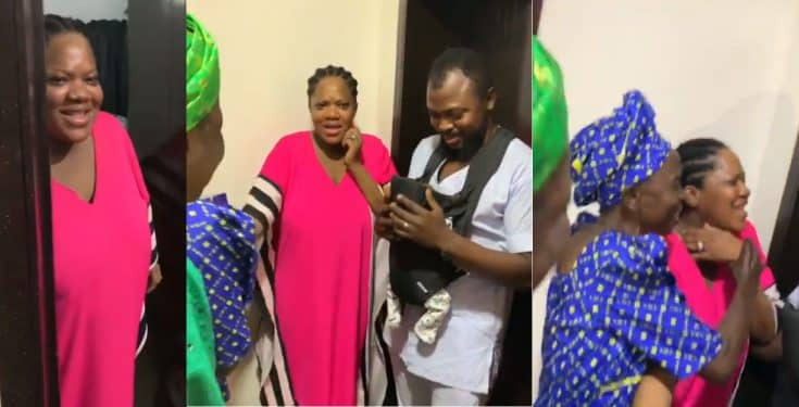 Toyin Abraham gets birthday surprise from husband, Ajeyemi (video)
