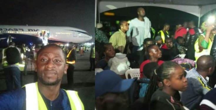 #Xenophobia: Abike Dabiri receives 187 Nigerians from S. Africa (video)