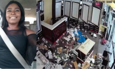 Xenophobia: Lady rendered jobless after Shoprite wing was looted In Lagos