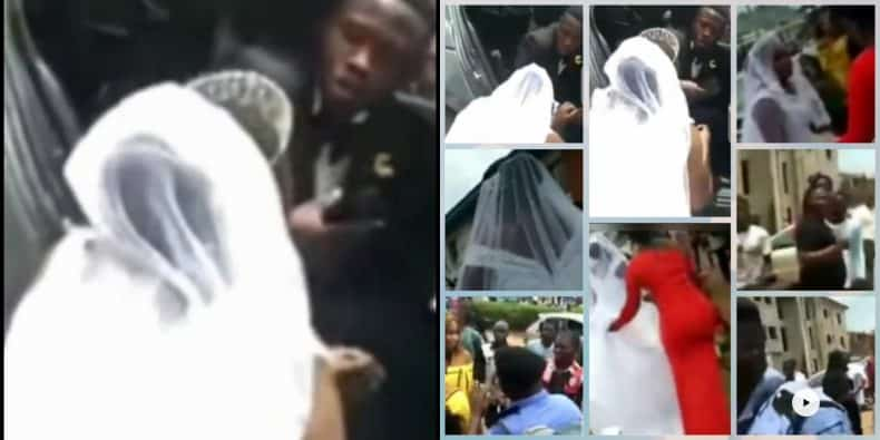 Man Cancels His Wedding On Their Way To Church In Abuja, Bride Kneels To Beg