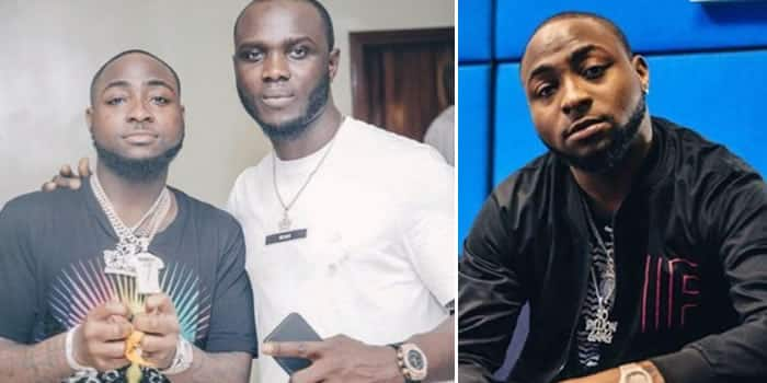 Davido Allegedly Sends His Crew Member Out Of His House