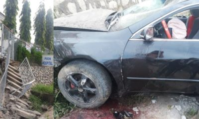 Abuja hospital allegedly rejects a man who had an accident at their frontage