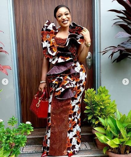 Actress Tonto Dikeh celebrates hitting 5-million followers on IG -1