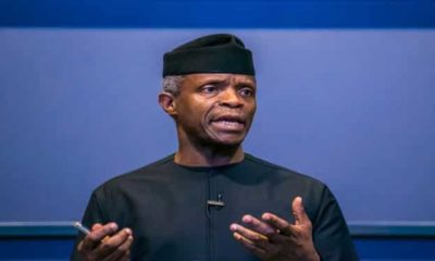 'All African countries are corrupt' - Vice President, Yemi Osinbajo