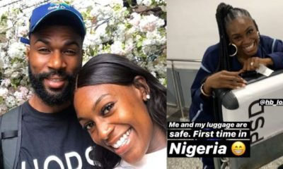 BBNaija: Mike's wife arrives Nigeria to support her husband (Video)