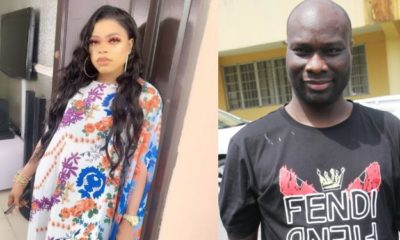 Bobrisky reacts after Mompha was arrested by the EFCC