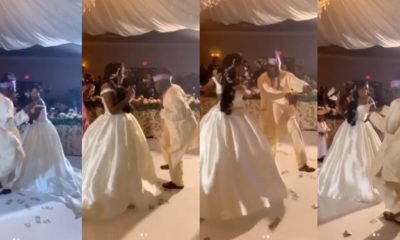Dad wows audience with his dance moves, during his daughter's wedding (Video)