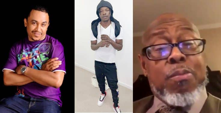 Image result for Daddy Freeze, Naira Marley React To Viral Video Of Pastor Wilson Eating Up A Lady
