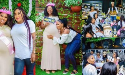 First photos from Wumi Toriola's baby shower before baby boy's arrival