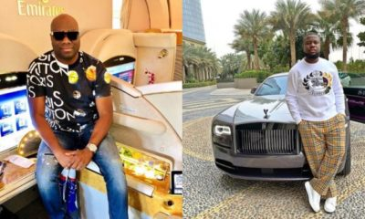 Hushpuppi reacts to Mompha's alleged arrest by International Police (INTERPOL)