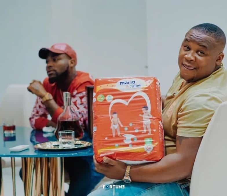 Chioma reacts to her unborn child's endorsement deal with 'Mario & Juliet' baby diapers