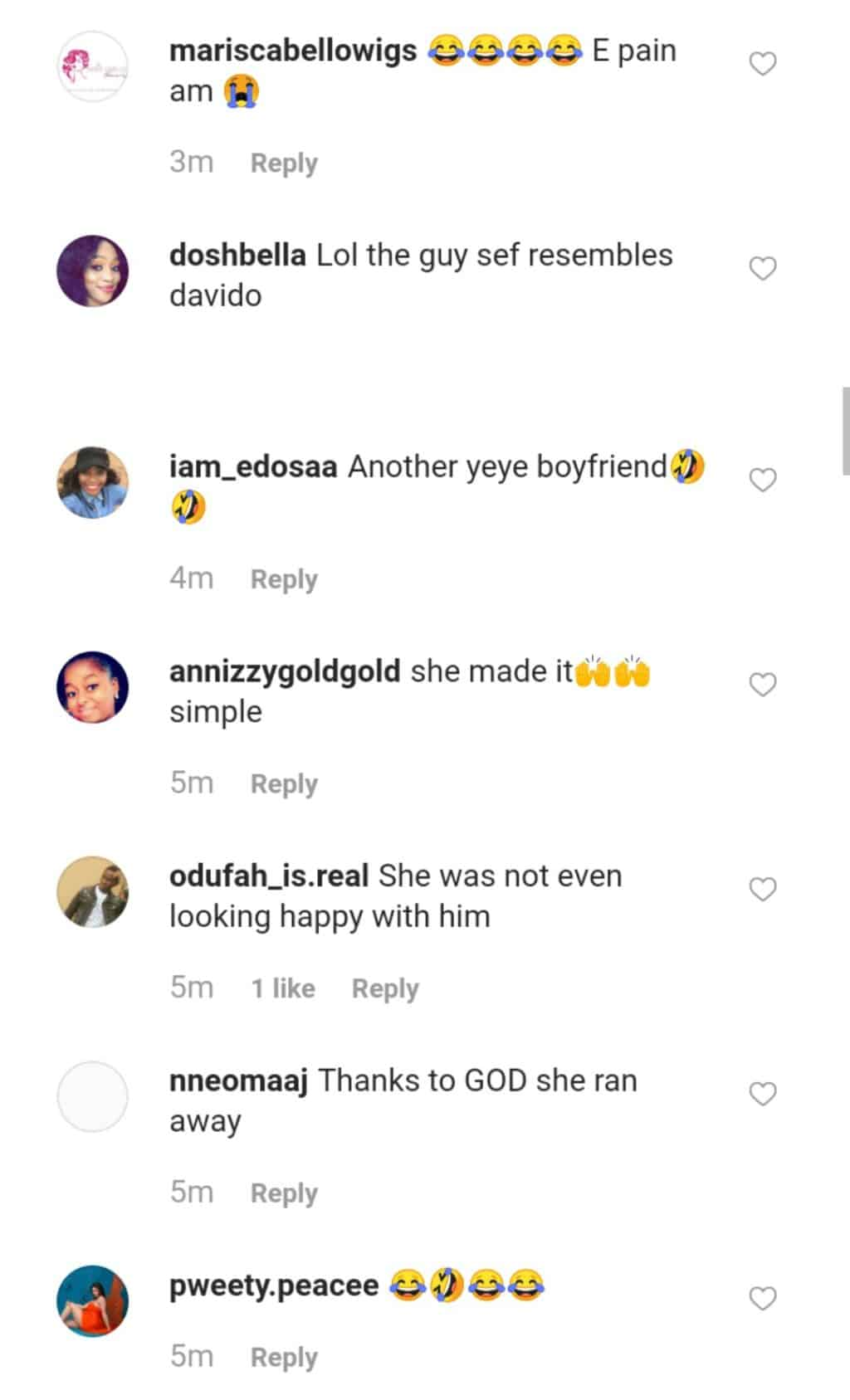 Throwback photo of Chioma and her alleged ex-boyfriend resurfaces after delivery