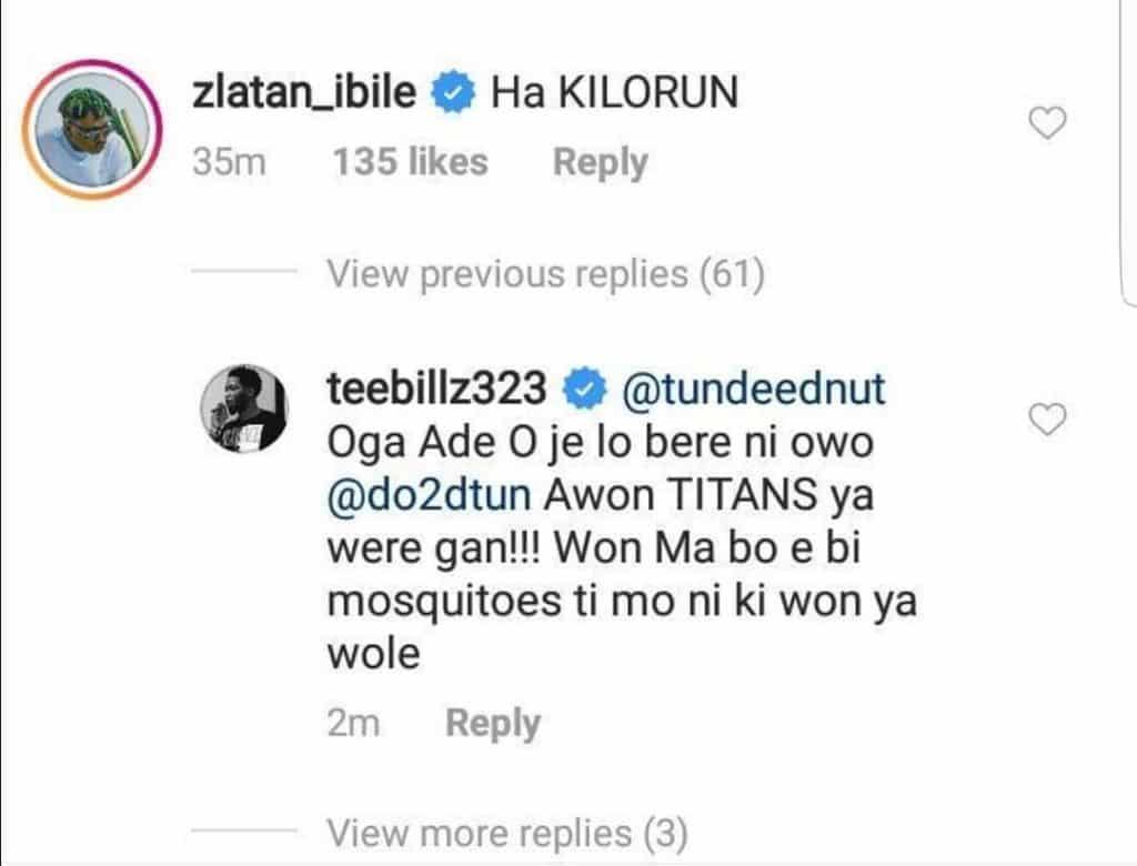 Teebillz slams Zlatan for mocking reality star, Tacha