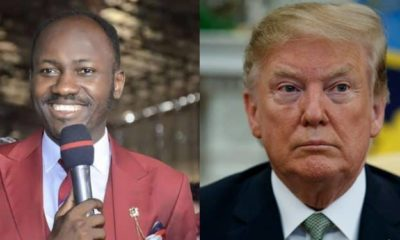 Impeachment: All Christians should pray for Donald Trump – Apostle Suleman