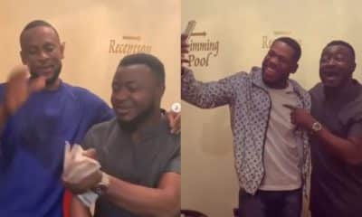 MC Galaxy gifts Frodd and Omashola N500k and N300k (video)