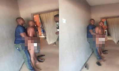 Man caught while trying to sleep with best friend's wife in Anambra (photos)