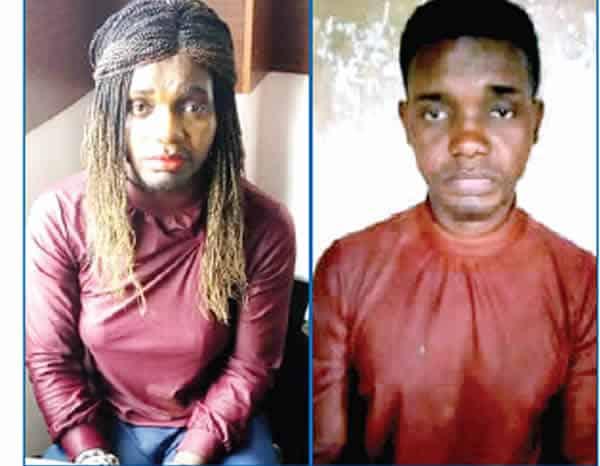 Man disguises as female prostitute to defraud men in Lagos