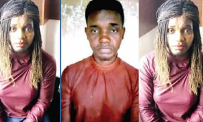 Man disguises as female prostitute to defraud men in Lagos