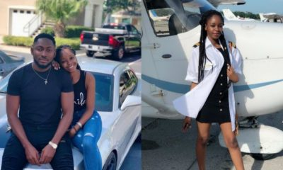 Miracle Igbokwe celebrates his girlfriend on her birthday (Photos)