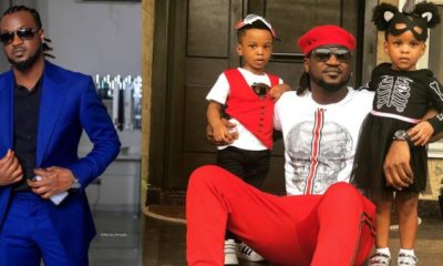 Paul Okoye shares adorable photo with his twins Nadia and Nathan