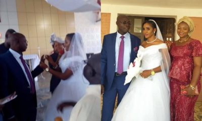 Photos from alleged wedding ceremony of former Catholic Priest of 25 years