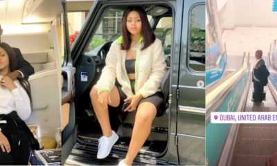 Regina Daniels and Ned Nwoko enjoy each other's company in Dubai (video)