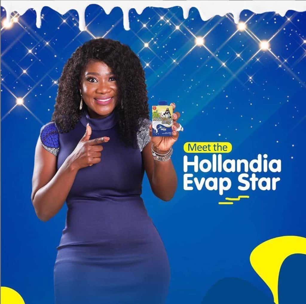 Mercy Johnson-Okojie signs multi-million naira endorsement deal with Hollandia Milk