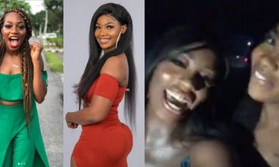 Tacha And Khafi Step Out Together With Police Escort (Video)