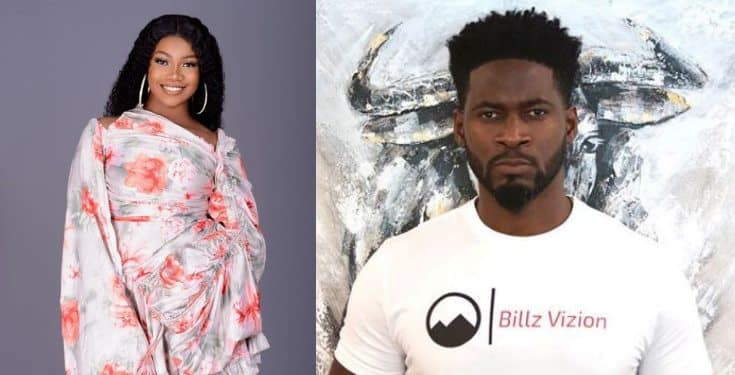 Image result for images of BBNaija's Tacha announces the end of her management deal with Teebillz
