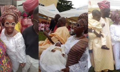 Tinubu's daughter, Folasade welcomes second surrogate child