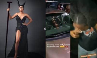 Toke Makinwa gifts her Personal Assistant with a car gift (video)