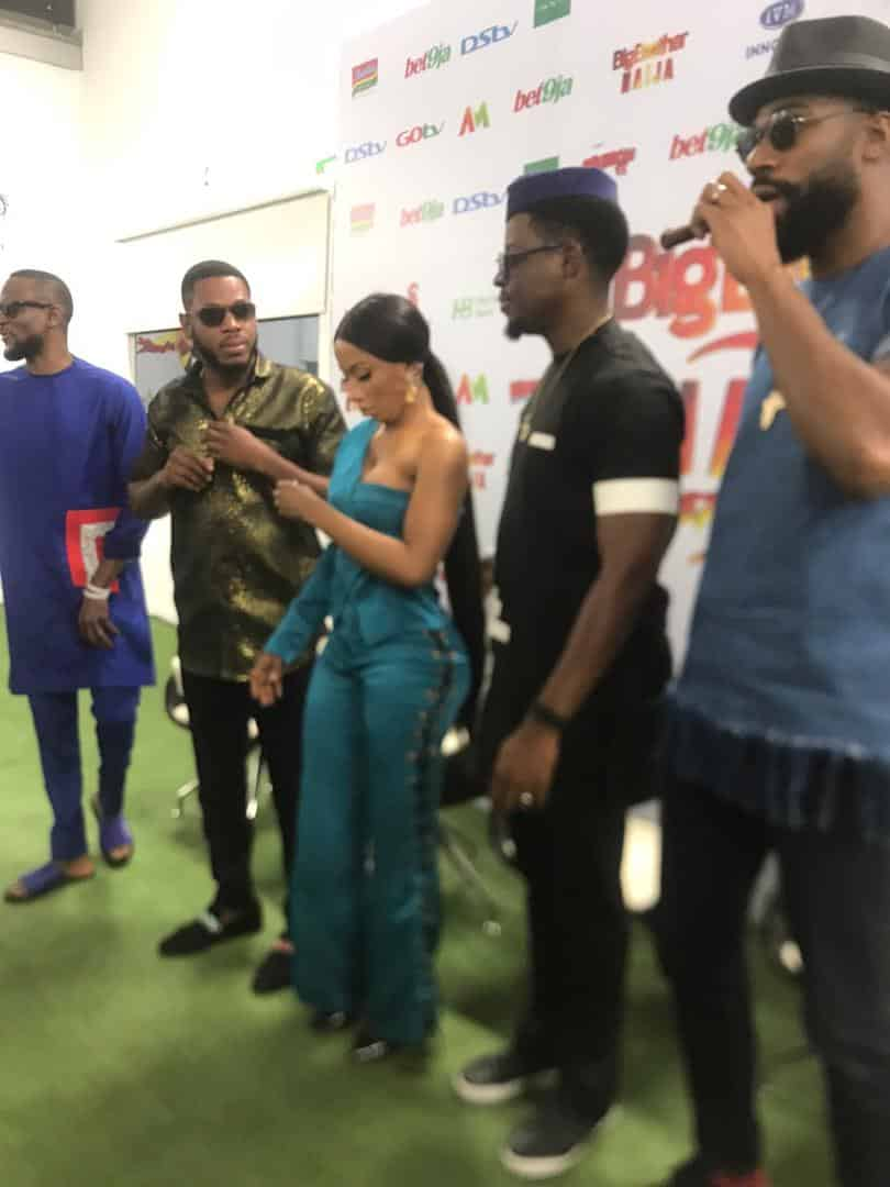 BBNaija Press Conference: Mercy speaks on Tacha's disqualification