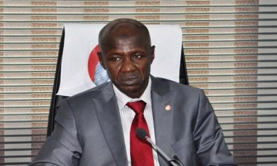 """Don't blow,""- EFCC boss, Ibrahim Magu begs the youth"