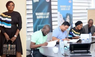 Actress Funke Akindele bags new endorsement deal (photos)