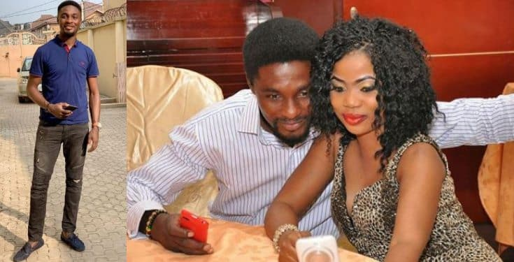 Adeniyi Johnson tackles troll over comment on throwback photo with his wife