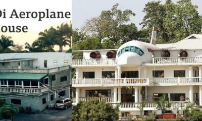 Beautiful story behind the popular 'aeroplane house' in Abuja (video)
