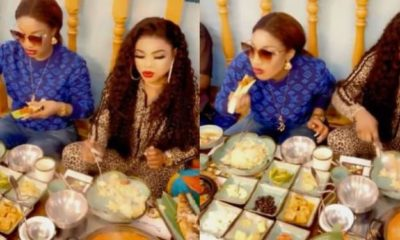 Bobrisky and Tonto Dikeh spite haters as they enjoy life in Dubai (video)