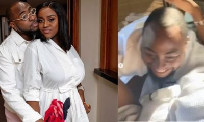 Chioma shares lovely videos to celebrate Davido's 27th birthday