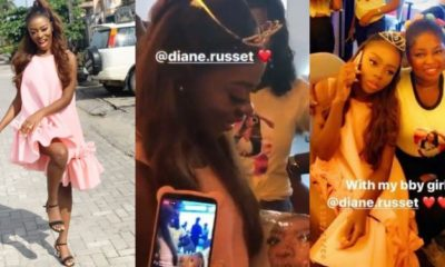 Diane hosted by her fans in a meet & greet session in Lagos (video)