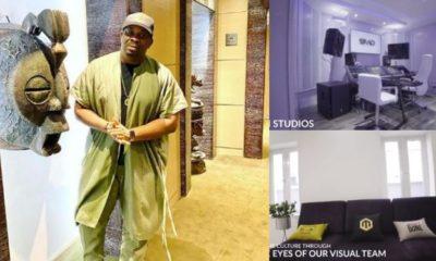Donjazzy shares lavish interior of new multi-million naira Mavin office as he celebrates 37th birthday (video)