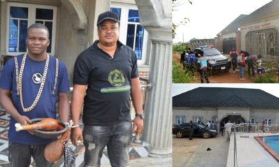 EFCC arrests two brothers for extorting 'Yahoo boys' (photos)