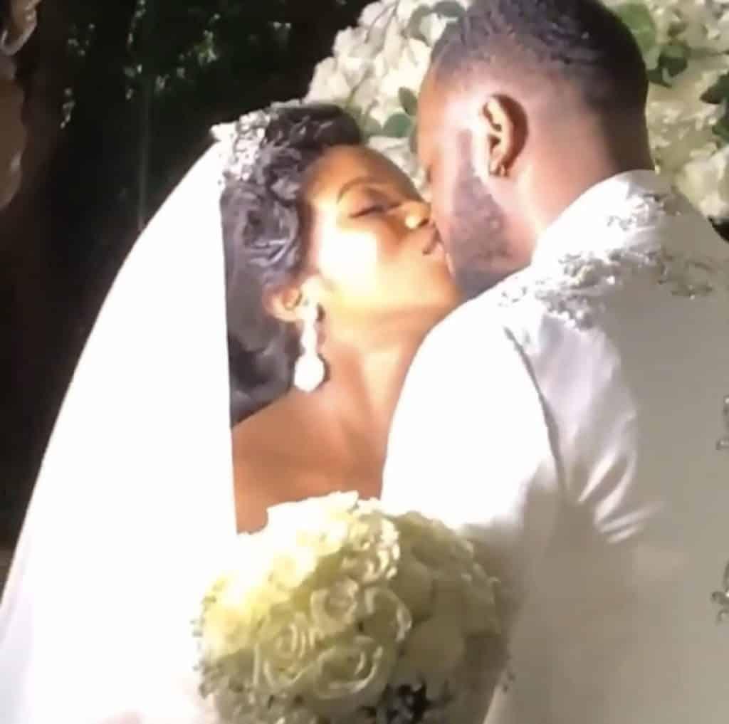 Photos from BamBam and Teddy White Wedding in Dubai