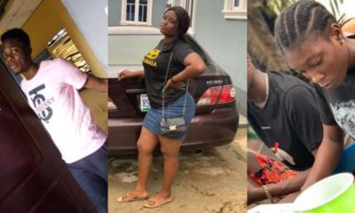 FUTA students who beat up a 100 level female student have been arrested (video)