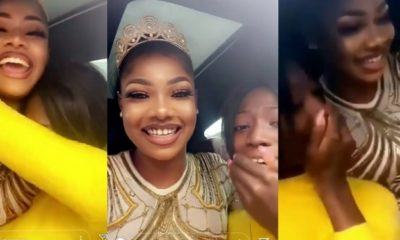 Lady breaks down in tears as she gets a hug from Tacha