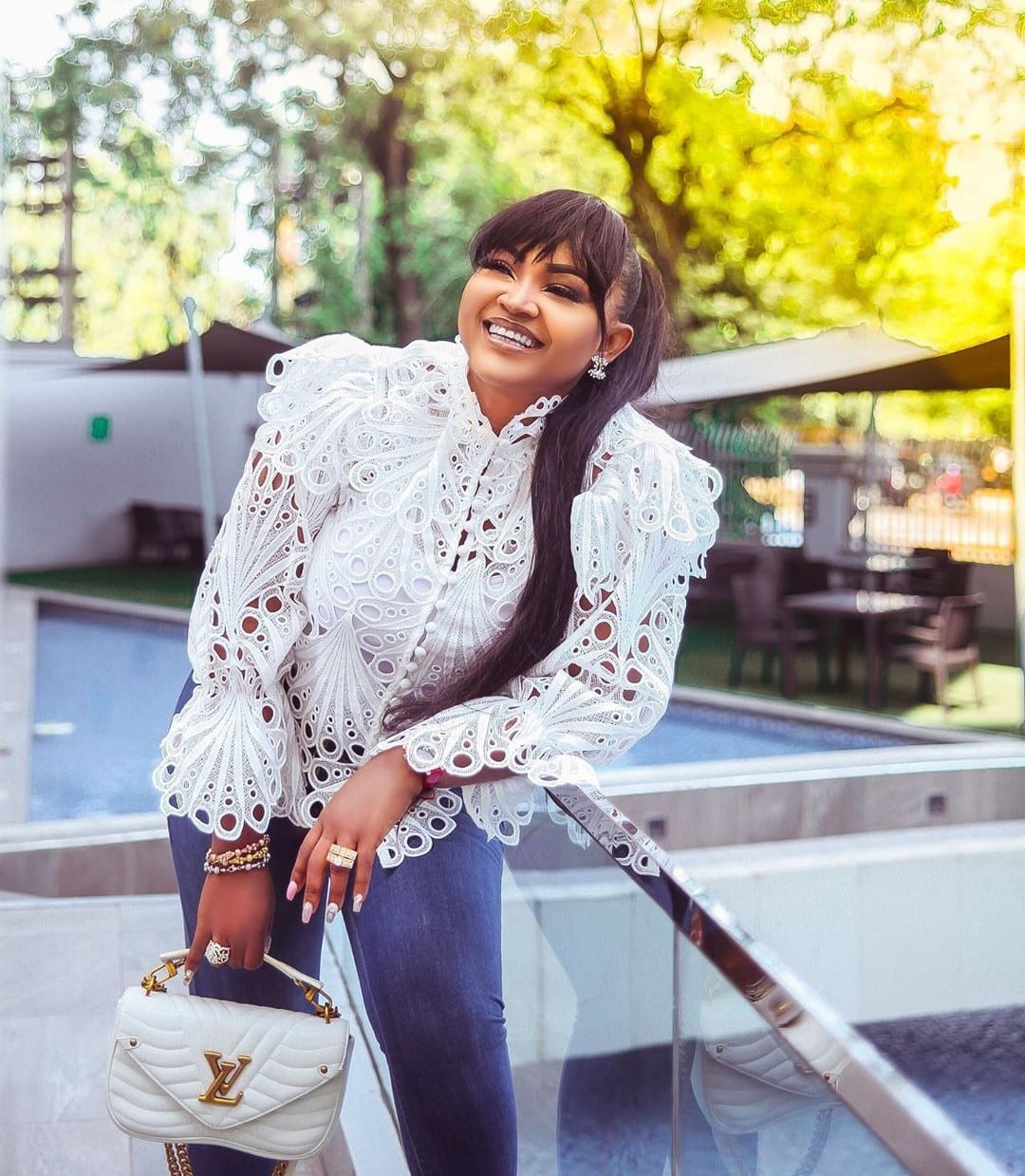 """""""For the remaining days in this year, I am only available for enjoyment""""- Mercy Aigbe"""