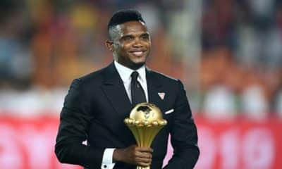 'It's a fact that I'm the best African player ever' - Samuel Eto'o